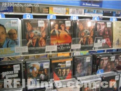 美国应用RFID技术管理CD/DVD自助租赁