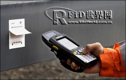 德国钢铁公司全球首例成功利用RFID技术追踪钢板