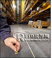 德国叉车引入RFID导航 效率提高30%