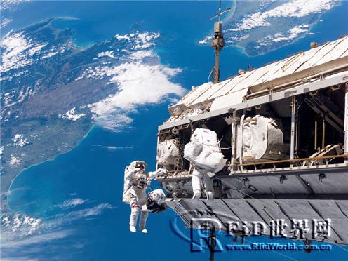 NASA在太空站采用声表面波标签清点物品