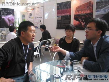 辽机科技:RFID新锐的高速成长秘密——SCAN CHINA 2008展会采访之辽机科技总经理张宇先生