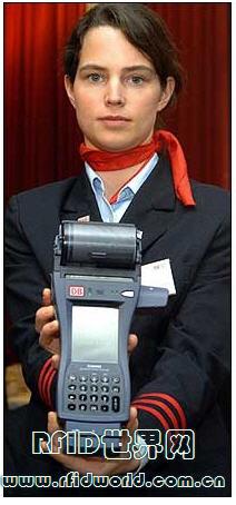 德国国家铁路公司展示 NFC手机付费系统 Touch&Travel