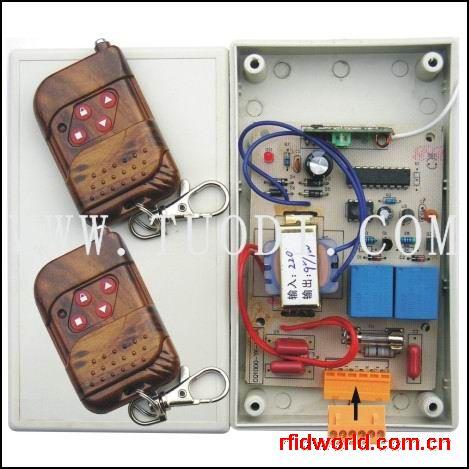 电动门遥控电路图