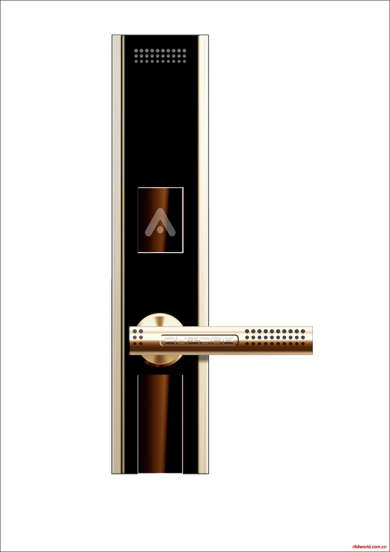 安全门射频指纹锁  深圳家用型指纹锁高清图片