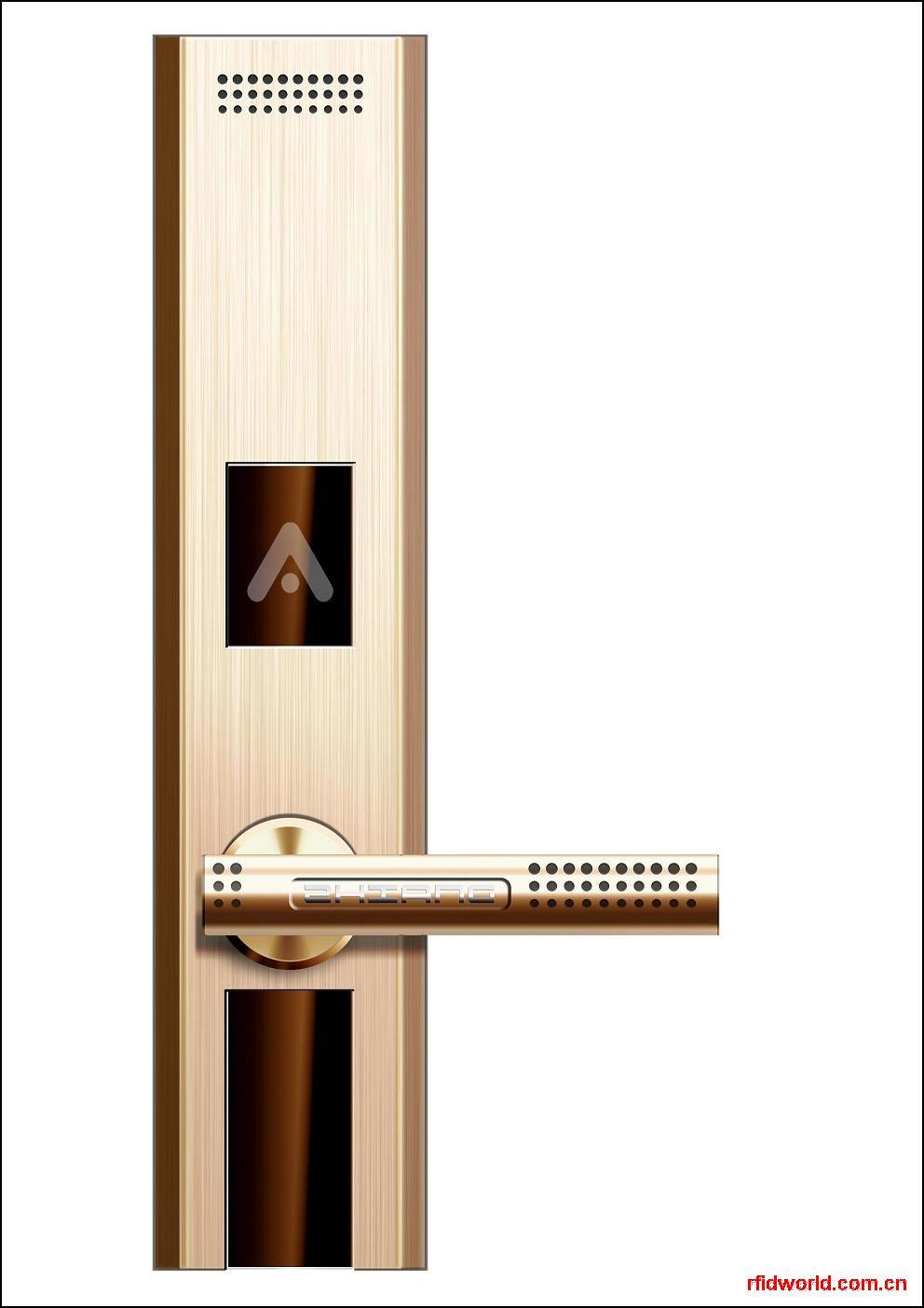 家居防盗指纹门锁