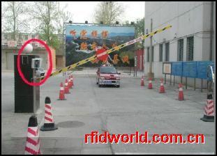 不停车读卡车辆管理